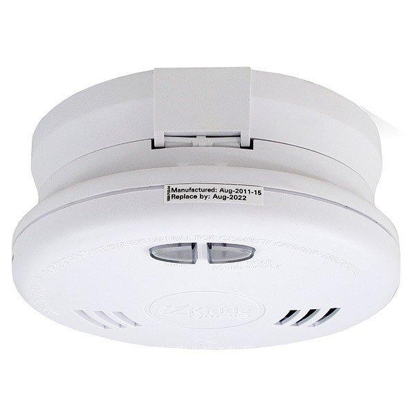 kidde slick wireless smoke alarm 230v smoke and heat alarms. Black Bedroom Furniture Sets. Home Design Ideas