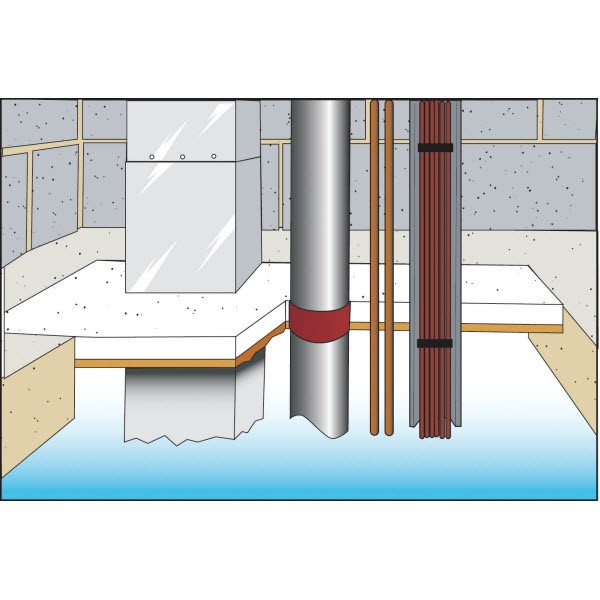 Fire Resistant Mortar : Fire resistant mortar gt stopping for pipes and ducting