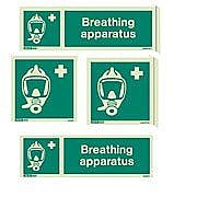 Breathing Apparatus Signs