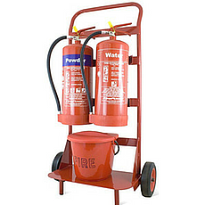 Extinguisher Trolley