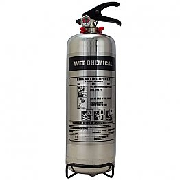 2 Litre Wet Chemical Chrome Extinguisher