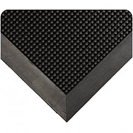 Heavy Duty Outdoor Black Rubber Mat
