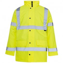 Basic Hi Vis Jacket Yellow