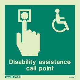 Disability Assistance Call Point 4054