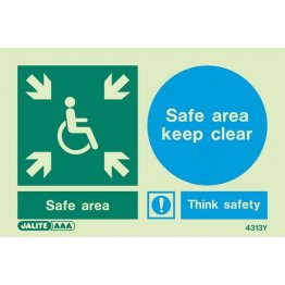 Safe Area Keep Clear 4313