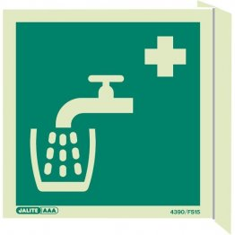 Wall Mount Drinking Water First Aid 4390FS
