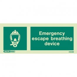 Emergency Escape & Breathing Device 4523