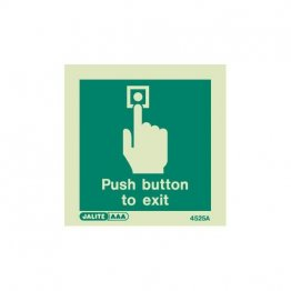 Push button to exit 4525