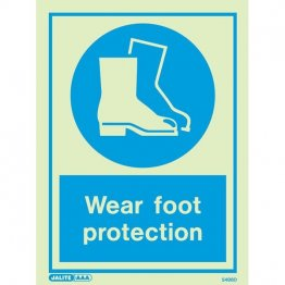 Wear Foot Protection