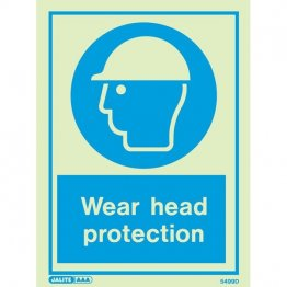 Wear Head Protection