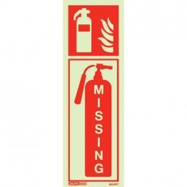 Fire Extinguisher Missing 6040