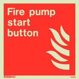 Fire Pump Start Button 6089