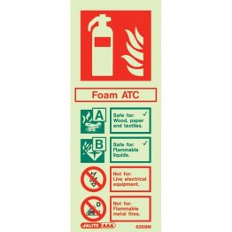 Foam ATC Extinguisher 6268