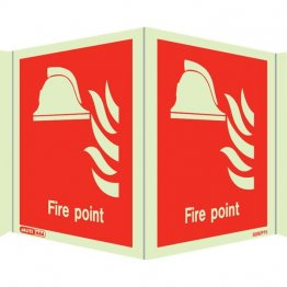 Panoramic Fire Point Marker 6459