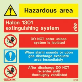 Halon 1301 Extinguishing System 6517