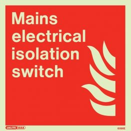 Mains Electrical Isolation Switch 6598