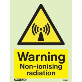 Warning Non Ionising Radiation 7018