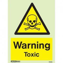 Warning Toxic 7091