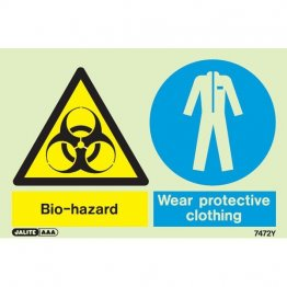Bio Hazard Wear Protective Clothing 7472