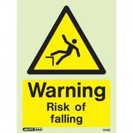 Warning Risk Of Falling 7579