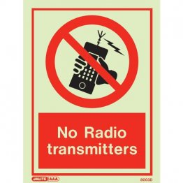 No Radio Transmitters 8003