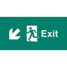 Emergency Light Legend Exit Ahead Pack of 10 EL443