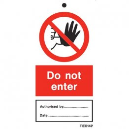 Do Not Enter Labels