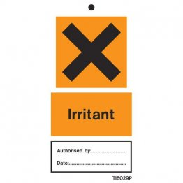Irritant Labels Pack of 10 TIE029