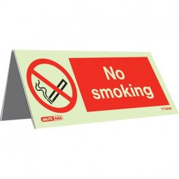 Tabletop No Smoking Pack of 5 TT3656-5