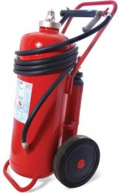 50kg powder fire extinguisher cartridge version side view