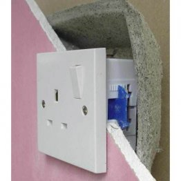Fireproof socket box cover