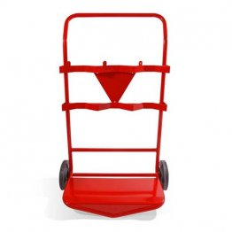 Triple extinguisher trolley