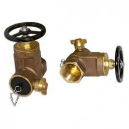 Dry Riser Gate Valve Screwed BSPT Female