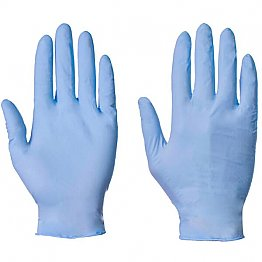 Powder-free Nitrile Gloves - per 100