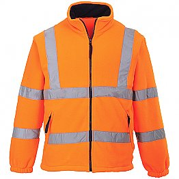 Hi-Vis Orange Fleece