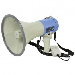 25W megaphone with audio playback