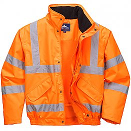 Storm Proof Orange Jacket
