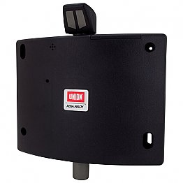 Union Wireless Fire Door Holder Black
