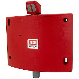 Union Wireless Fire Door Holder Red