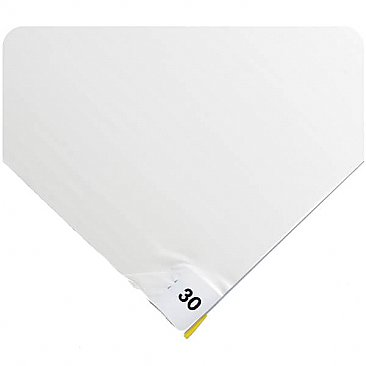 White Numbered Tacky Mats