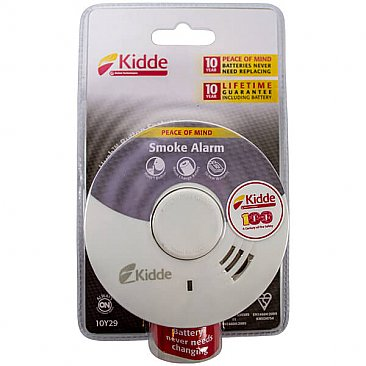 10-Year Optical Smoke Alarm - Packaging