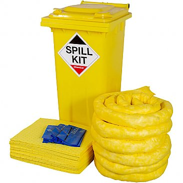 240 Litre Wheeled Spill Kit - Chemical