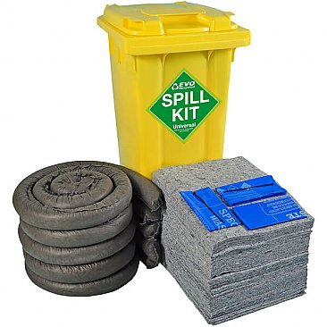 240 Litre Wheeled Spill Kit - EVO