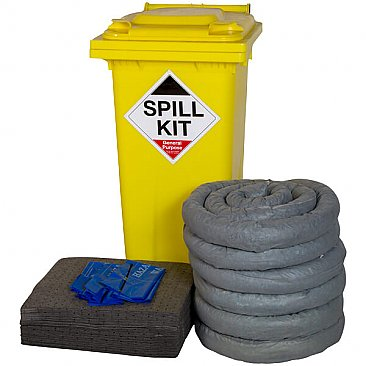 240 Litre Wheeled Spill Kit - General Purpose