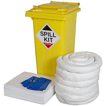 240 Litre Wheeled Spill Kit - Oil & Fuel