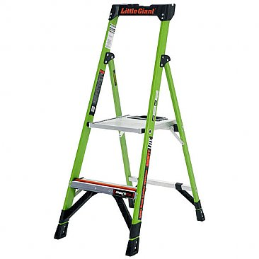 Little Giant MightyLite Step Ladder - 2 Tread
