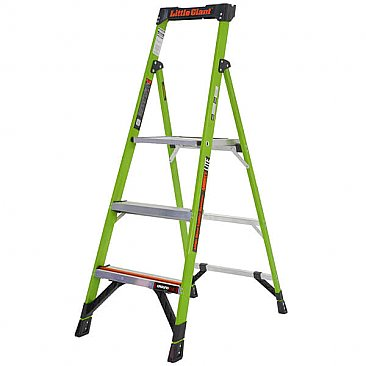 Little Giant MightyLite Step Ladder - 3 Tread