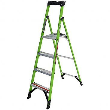 Little Giant MightyLite Step Ladder - 4 Tread