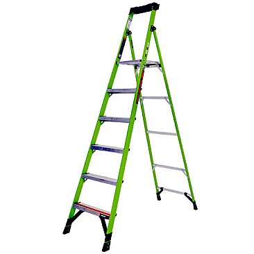 Little Giant MightyLite Step Ladder - 6 Tread