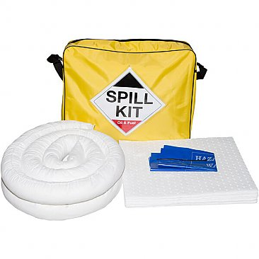 50 Litre Hi-Vis Spill Kit - Oil & Fuel